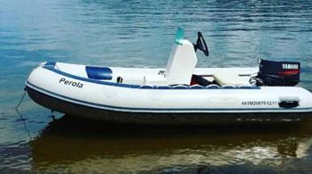 Motor de Popa para Bote Inflável